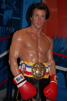 Rocky - Madame Tussauds Wax museum, Hollywood