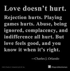 Love doesnt hurt