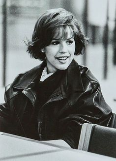 The 80's movie queen Molly Ringwald