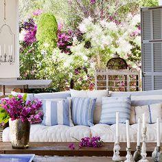 Terrazas y porches con encanto on pinterest terraces - Terrazas con encanto ...