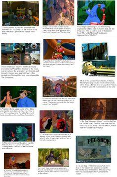Hidden disney characters in other disney movies