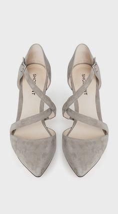 gray heels cloth, heel, gray shoes, gray flats, lemay lemay, silver shoes, closet, bright colors, grey flats