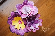 Tutorial :: Spring Bouquet by Mama's Sanity <3