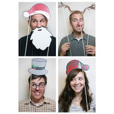 christmas photobooth props