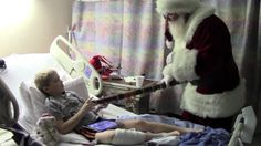 Watch as our 9-year-old patient William gets the Christmas present (a visit from his dad who is stationed in Egypt) he's been wishing for!