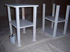 Diy cheap nightstand idea craft ideas pinterest for How to make a nightstand higher