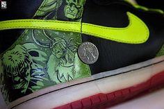 Avengers Custom Shoe Design