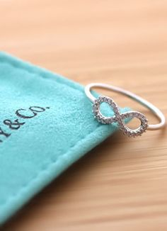 Tiffany & Co. Pave Infinity Ring <3