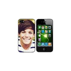 Louis Tomlinson One Direction Hard Cover Case Fits Iphone Four