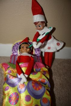 My Top 24 Elf on the Shelf Ideas. No cost, not mess, the kids LOVE it every morning :)