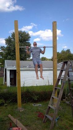 backyard pull up bar
