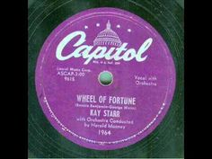 Kay Starr - Wheel Of Fortune (original 78 rpm)