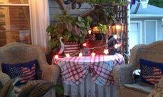 porch display, countri porch, porch sittin, front porch, porch decor