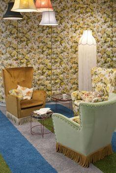 'Granny's Flat' seating area - Google London HQ