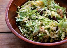 A Less Processed Life: Raw Brussels Sprouts Salad