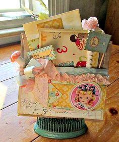 .Paper bag gift pocket