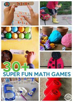 30  Super Fun Math Games