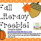 This is a nice little fall literacy center freebie for you!  Please follow my blog & TpT store for more great freebies! :)  Don't forget to lea...
