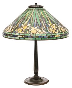And bronze table lamp tiffany studios the shade with iridescent green - Design Tiffany Studios On Pinterest Louis Comfort