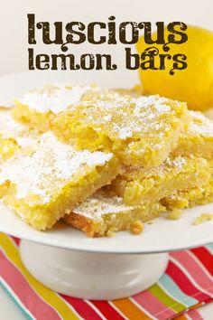 Pip & Ebby - Pip & Ebby - Luscious lemonbars