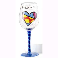 this wine glass... so colorful. so gaudy. I MUST MAKE IT MINE