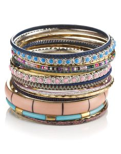 Bangles-love these patterns