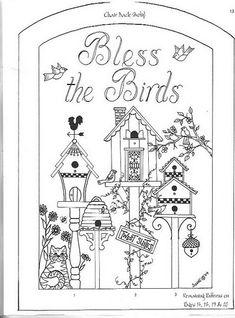 bless the birds birdhouses