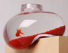 bubble tank  - by Psalt Design