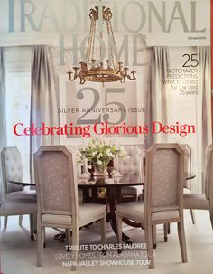 Cover of Traditional Home -- Tribute to Charles Faudree pages 95-98