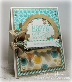 Card by Sheri Gilson using Birthday to You from Verve.  #vervestamps