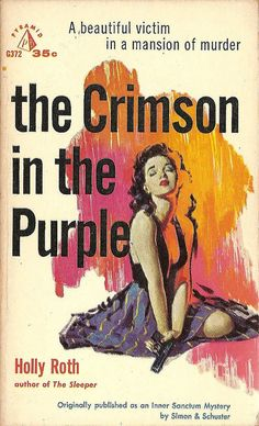 Robert Maguire: The Crimson in the Purple by Holly Ross / Pyramid G372, 1959