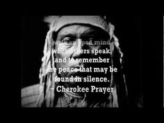 "Cherokee Morning Song: ""I am of the Great Spirit"""