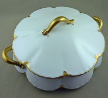 Haviland Limoges Schleiger 15, Covered Round Vegetable Bowl, Free Shipping!