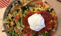 We've got a healthier AND tastier #taco #salad you should try tonight!