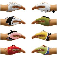 Scary Hands Temporary Tattoos