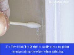 DIY: Window Trim Painting Tricks