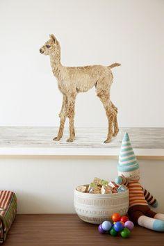 A CUP OF JO: Baby alpaca nursery