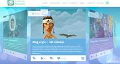 3D WordPress Themes Collection #design