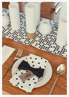 A fun dinner place setting