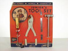 40s Orange Small Kids Tool Set