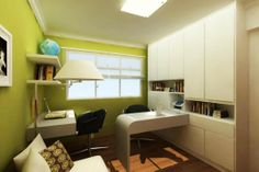 Simple Modern Study Room Decorations