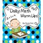 These Daily Math Warm Ups are a great way to start the day with your second grade students! These warm ups are designed to help students get extra ...