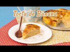 Torta de Banana - Receitas de Minuto #70