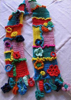 Bufanda ganchillo - croche