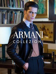 Various shades of Giorgio Armani (the designer, not the label) - ARMANI COLLEZIONI