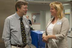 Dr. Talis Colberg and Alumni Palmer Mayor DeLena Johnson share stories.