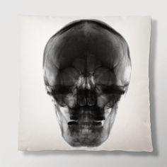 Imm-Living.com : Radiant Relics Cushion - X-ray Skull