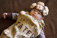 Sack of Potatoes Costume and other food themed costume ideas
