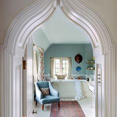 hous lust, gorgeous arch, stylish bathroom