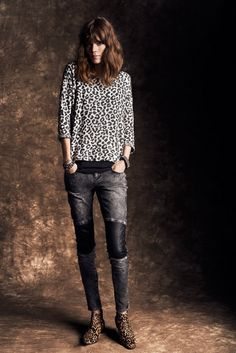 Freja Beha Erichsen for Reserved Fall Winter 2013.14 Lookbook
